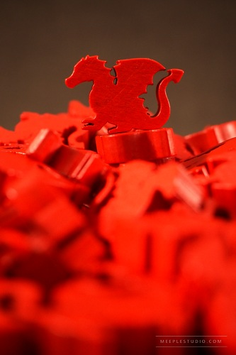 meeple Red Dragon